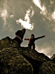 DueñaS del cielo... (Elilemie) Tags: alava euskadi roca dolmen piedra eguilaz aizkomendi