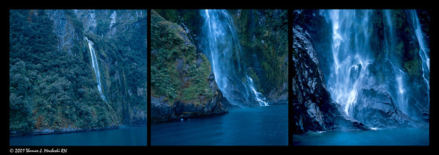 Sterling Falls Triptych