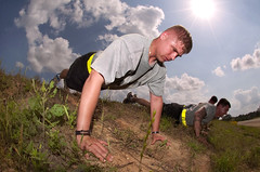 Uphill challenge (The U.S. Army) Tags: training soldier army fitness nco leadership 82ndairborne pushup fortpolk jrtc 1stbrigadecombatteam fobsword jointredinesstrainingcenter