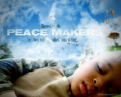 Blessed Are The Peace Maker (Beatitudes #7)