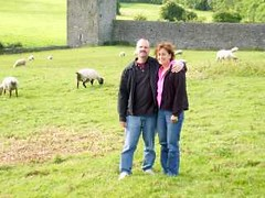 Pat & Thelma Godin at Kells Priory in County Kilkenny, Ireland