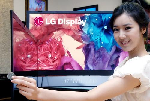LG Thinnest LCD TV Panel