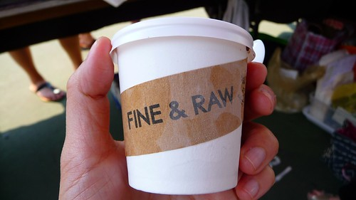 Fine & Raw chocolate ice cream