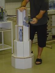 X-Board Bottled Water Display #10