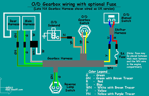 mgb overdrive wiring diagram with fuse a photo on flickriver rh flickriver com