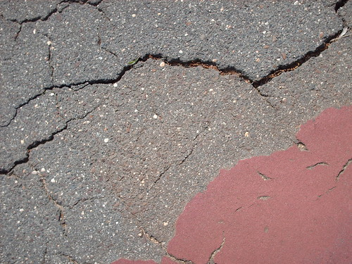 Cracks from Tennis Court - #15