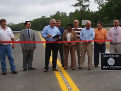 Bridge Opening, Staten Road, Lowndes County, Georgia, 27 May 2009
