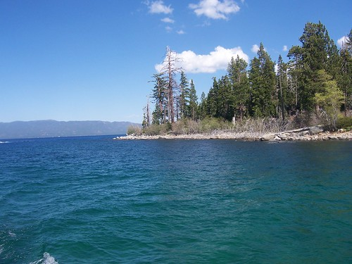 Towards Emerald Bay,Lake Tahoe