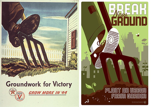 WWII Prop Posters, Revamped for Today