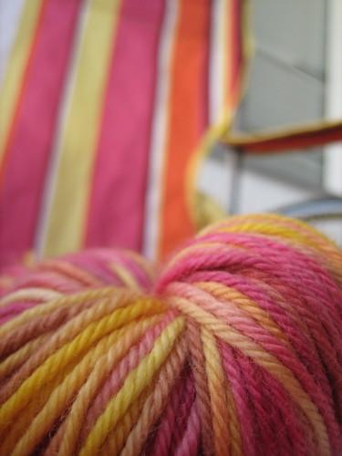 Aha!  The Camp Chair colourway