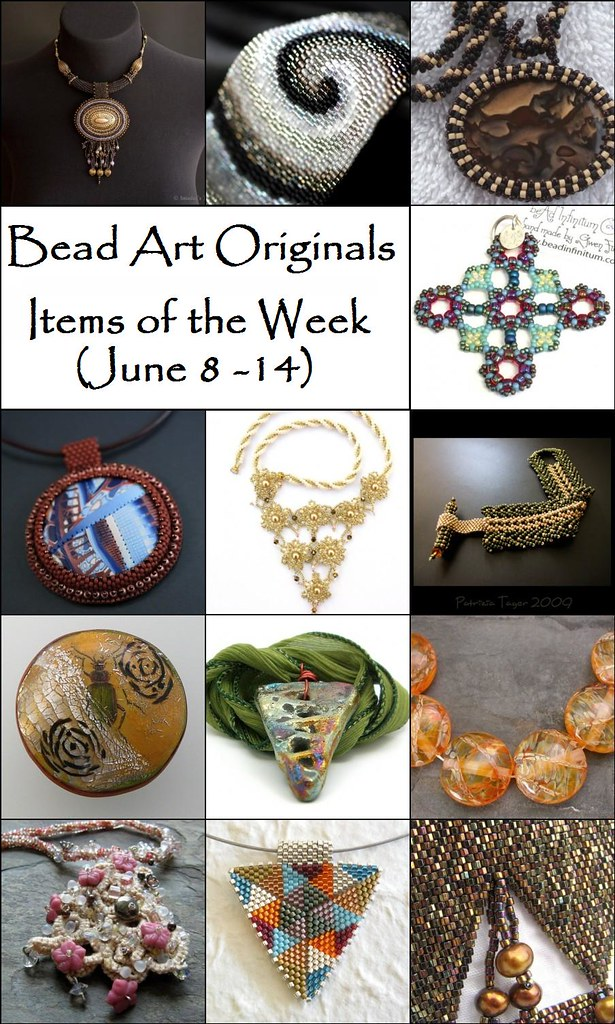Bead Art Originals - Items of the Week (6/8-6/14)