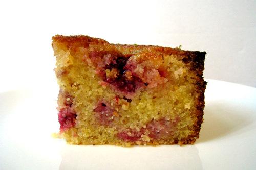 Polenta Lemon Drizzle Cake Recipe