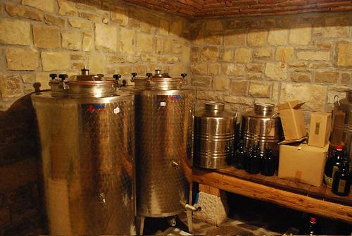 Oleum Vitae, Krasica - olive oil storage room