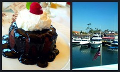 the cannery(: (jenna lynn(:) Tags: water boats is amazing desert chocolate flag rich cream fudge american cannery rasberry whipped cocoalatee
