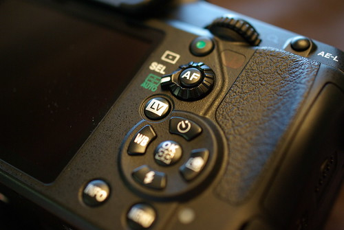 PENTAX K-7 control buttons (by HAMACHI!)