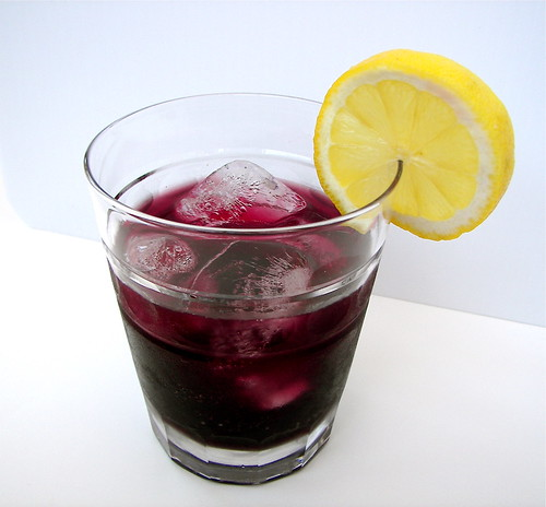 Slippery Slope Mulberry Cocktail