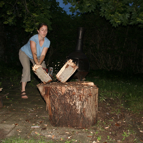 Wood Splitting Block