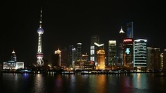 Shanghai Skyline at Night -    (Sir Francis Canker Photography ) Tags: world china christmas xmas city trip travel panorama reflection building tourism beautiful skyline architecture night skyscraper lights luces noche amazing view shanghai shot gorgeous awesome edificio picture landmark visit tourist exhibition best sharp crispy most scenary reflejo stunning nocturna luci yangtze  pudong visiting ever  nuit  bund notte jinmao cina nit yuyuan lumieres rascacielos huangpu orientalpearltower    lujiazui chenghuangmiao   expo2010  shanghaiworldfinancialcenter     tz10 zs7 pacocabezalopez