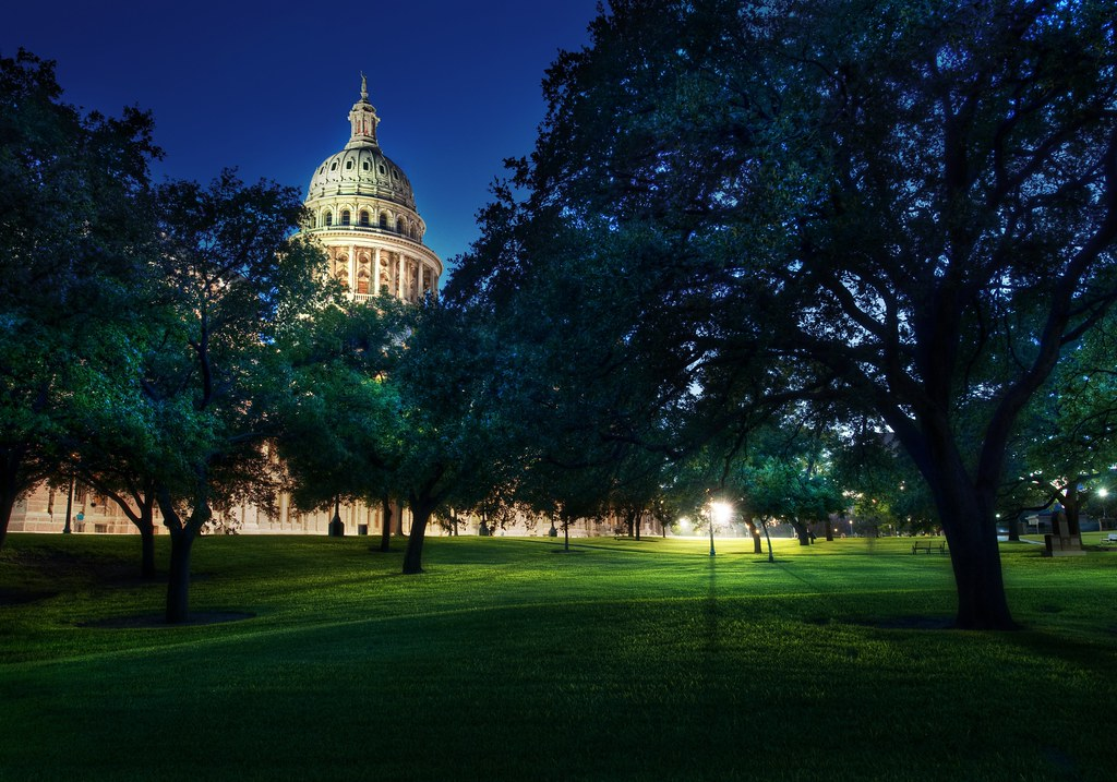 The Capitol on the Night of the Austin PhotoWalk
