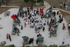 Memorial to Georgian soldiers