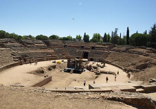 Anfiteatro en Mérida