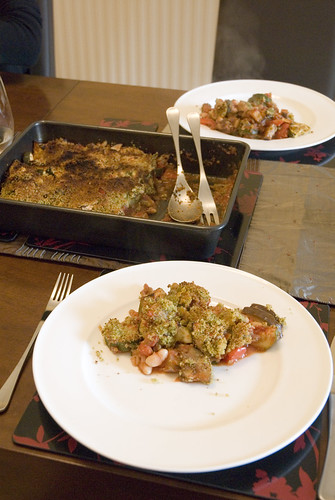 Mediterranean veg gratin