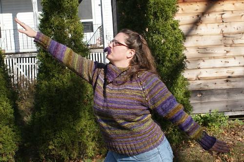 Mr. Mxyzptlk Sweater (In Flight)