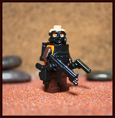 Genetically Enhanced Super Soldier (Geoshift) Tags: lego supersoldier modernwarfare legomilitary legocustomminifig