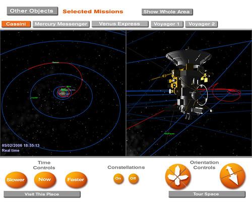 Space Signpost: Casini Screen