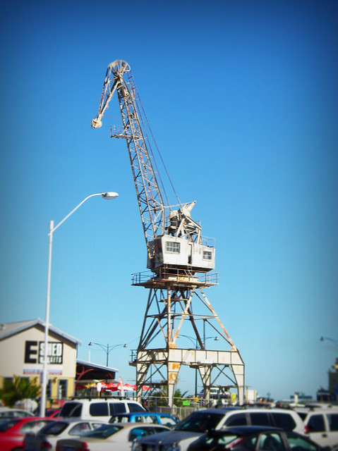 Day 346 - Fremantle Giraffe Crane