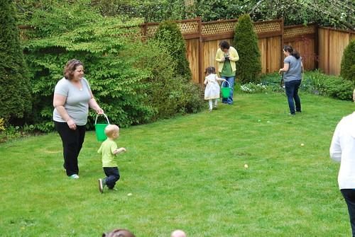 The lemon-lime egg hunt!
