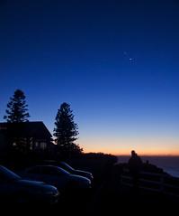 Mt. Strzelecki (Leighton Wallis) Tags: mars silhouette sunrise dawn venus mercury earth planets jupiter aligned conjunction mountstrzelecki