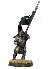 Minas Tirith Warrior w/banner 1 (LotR Collector) Tags: miniature painted banner gaming lotr figure lordoftherings gw wargame tolkien tablet