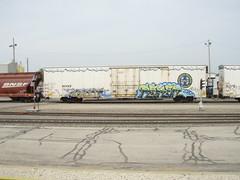 gaunt... reken (feck_aRt_post) Tags: graffiti gaunt benching reken rollby bnsf793464