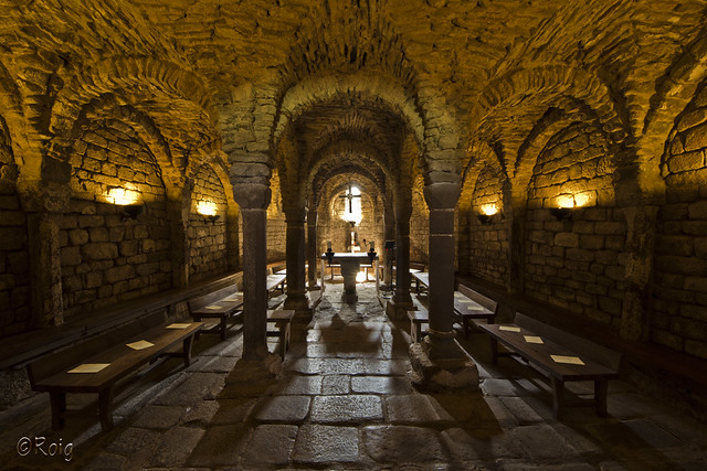 Cripta d'Olius.