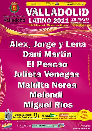 Valladolid Latino 2011