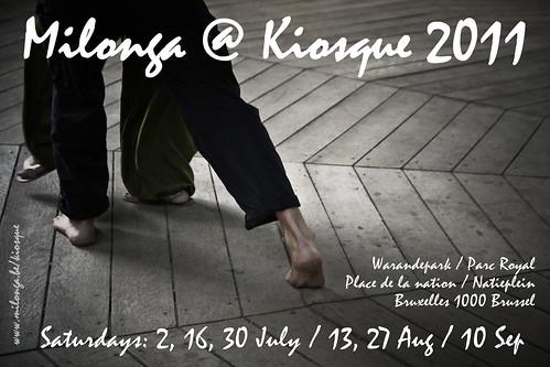 Milonga @ Kiosque 2011