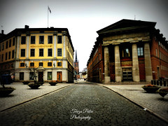 Stockholm, Gamla Stan, Sweden (Terezaki ✈) Tags: trip travel vacation yellow stone architecture photography photo europe cityscape searchthebest sweden stockholm unesco gamlastan scandinavia pictureperfect naturesfinest citybreak 50faves anawesomeshot flickrdiamond theperfectphotographer
