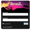 Aronil.com Custom WordPress Login by aronil