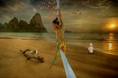 rope down to paradise (Eddi van W.) Tags: light texture love creativity energy digitalart gimp down rope textures creativecommons ritual spirituality spiritual deepness kreativitt spiritualitt eddi07 texturesonly