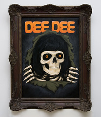 Dee Dee Ripper (from the gabba gabba paint serie) (parbo art) Tags: theramones deedee ripper parbo