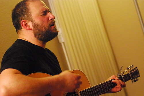 david bazan @ san jose house concert