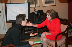 How two strong women talk (The Rachel Maddow Show) Tags: msnbc nancypelosi rachelmaddow accela therachelmaddowshow