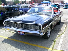 1968 Ford Galaxie 500 XL (osubuckialum) Tags: columbus ohio black ford views oh 1968 500 xl 1000 carshow galaxie galaxie500 68 fastback goodguys