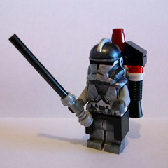 42nd Dark Horse Sqd_The Knight (Fine Clonier) Tags: minifig custom kam clone droid clonewars minifigure kaminoan