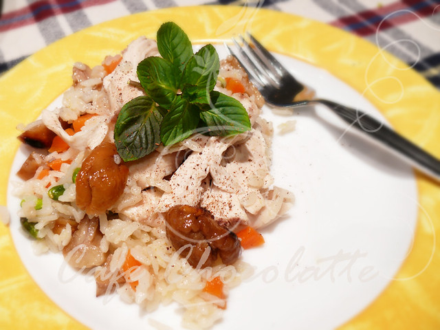 Rice pilaf with Chestnut