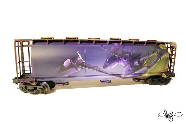Model Train Side B