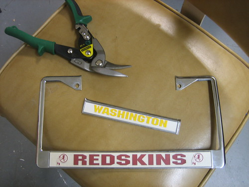 finally my redskins fanship did not interfere with my desire to be a law abiding citizen check out how truly law abiding i am now