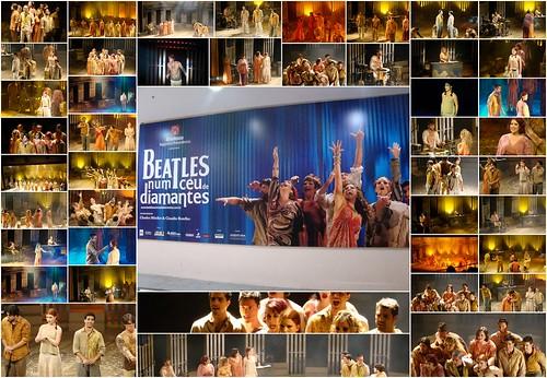 Beatles num céu de diamantes por você.