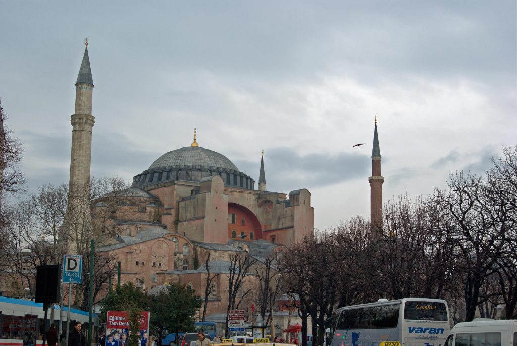 Sultanahmet square and Hagia Sophia  Istanbul through my eyes
